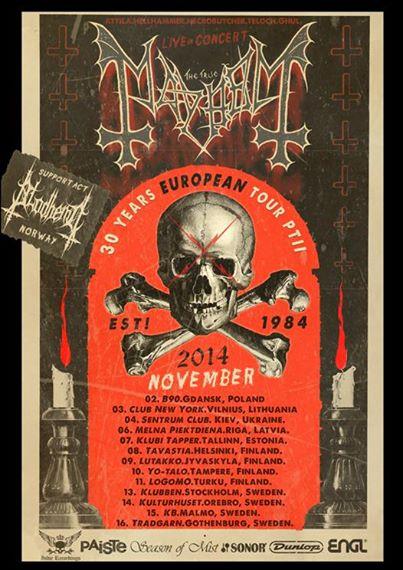 Poster Mayhem Blodhemn